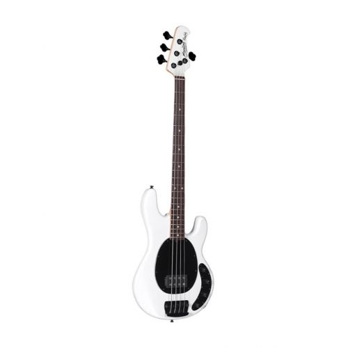 STERLING BY MUSIC MAN STINGRAY RAY 34 H PEARL WHITE