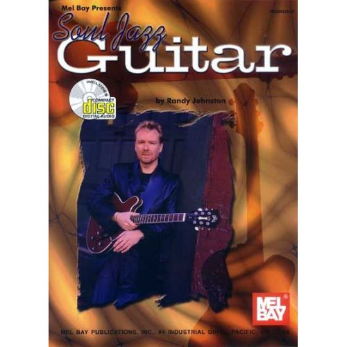 MEL BAY JOHNSTON RANDY - SOUL JAZZ GUITAR + CD - GUITAR
