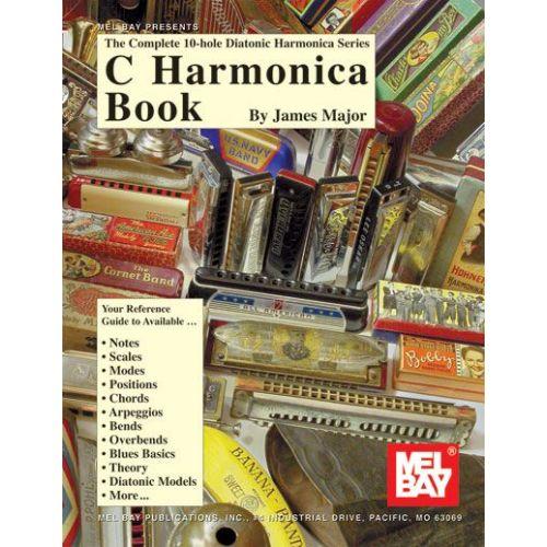 MEL BAY MAJOR JAMES - C HARMONICA BOOK - HARMONICA