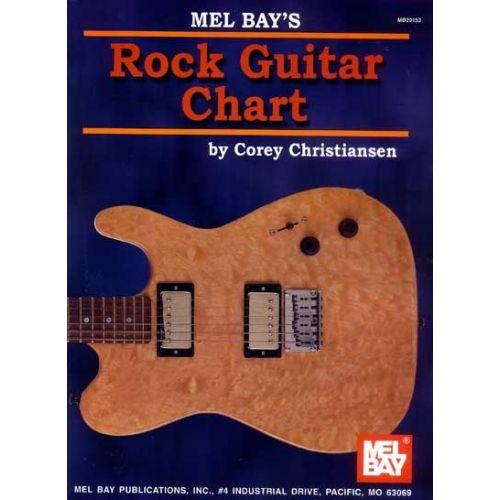 MEL BAY CHRISTIANSEN CORY - ROCK GUITAR CHART - GUITAR