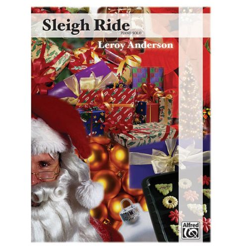 ALFRED PUBLISHING ANDERSON LEROY - SLEIGH RIDE - PIANO SOLO