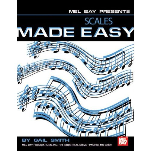 MEL BAY SMITH GAIL - PIANO SCALES MADE EASY - KEYBOARD