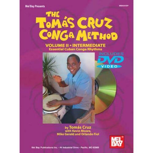 MEL BAY CRUZ TOMAS - CONGA METHOD VOLUME 2 + DVD - CONGA
