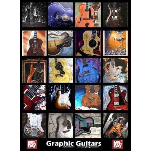 MEL BAY CHASE PAUL - GRAPHIC GUITARS GUITAR