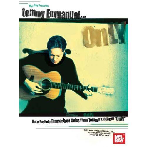 MEL BAY EMMANUEL TOMMY- ONLY - GUITAR