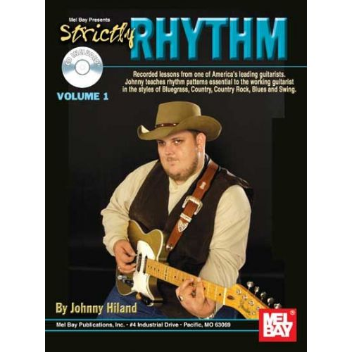 MEL BAY HILAND JOHNNY - STRICTLY RHYTHM VOL. 1 + CD - GUITAR