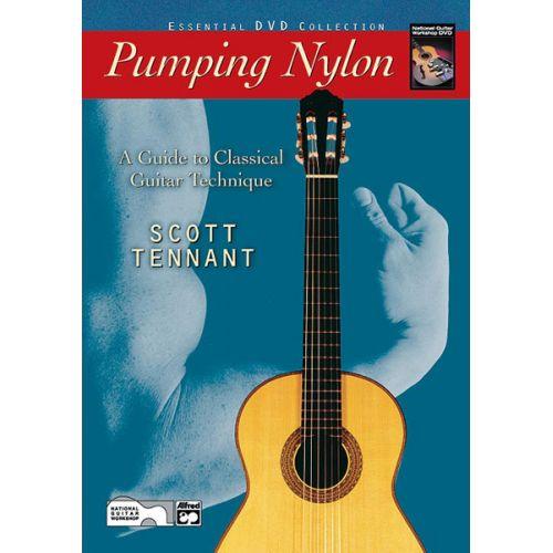 ALFRED PUBLISHING TENNANT SCOTT - PUMPING NYLON + DVD - GUITAR