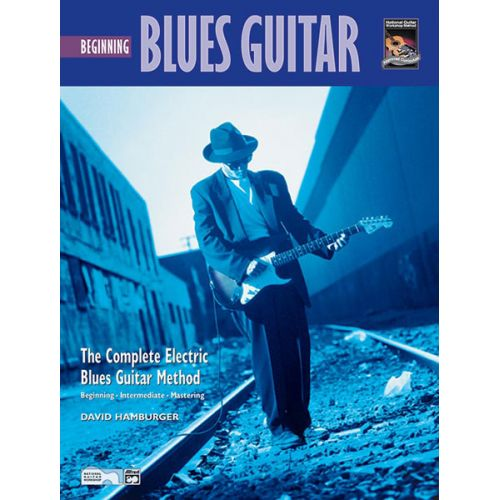 ALFRED PUBLISHING HAMBURGER DAVID - BEGINNING BLUES GUITAR + DVD - GUITAR