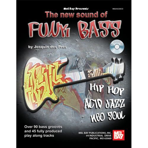MEL BAY NEW SOUND OF FUNK BASS TAB + CD