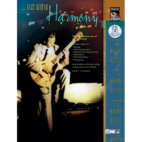 ALFRED PUBLISHING FISHER JODY - JAZZ GUITAR HARMONY + CD - GUITAR