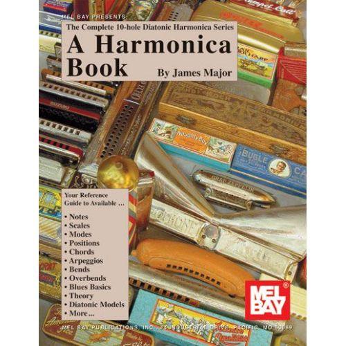 MEL BAY MAJOR JAMES - A HARMONICA BOOK - HARMONICA