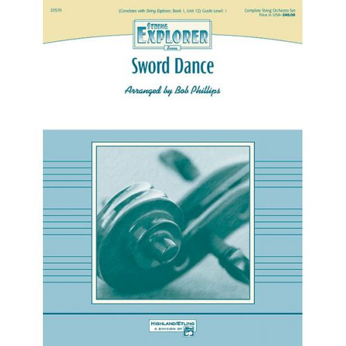 ALFRED PUBLISHING PHILLIPS BOB - SWORD DANCE - STRING ORCHESTRA