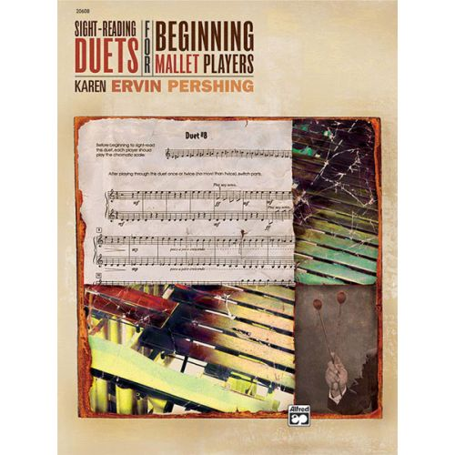 ALFRED PUBLISHING SIGHT READING DUETS BEG MALLET PLAYERS - PERCUSSION ENSEMBLE