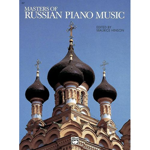 ALFRED PUBLISHING MASTERS OF RUSSIAN MUSIC-HINSON - PIANO SOLO
