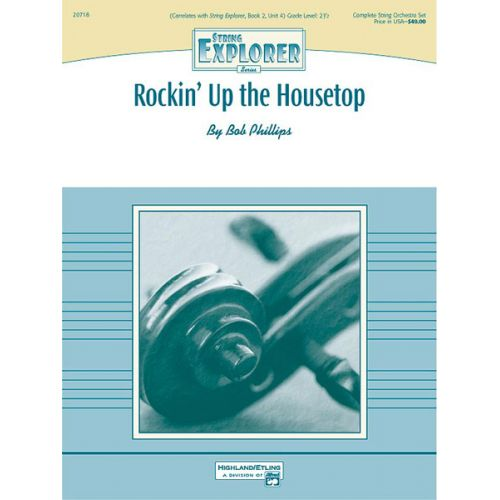 ALFRED PUBLISHING PHILLIPS BOB - ROCKIN UP THE HOUSETOP - STRING ORCHESTRA