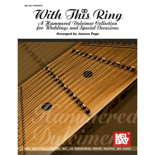 MEL BAY PAGE JEANNE - WITH THIS RING - DULCIMER
