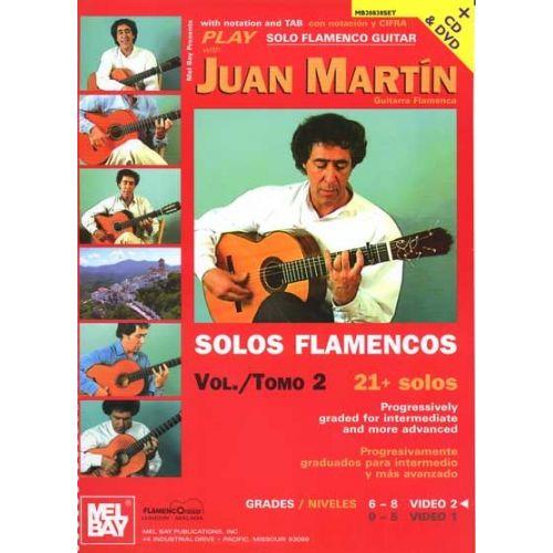 MEL BAY MARTIN JUAN - PLAY SOLO FLAMENCO GUITAR WITH JUAN MARTIN + CD + DVD - GUITAR