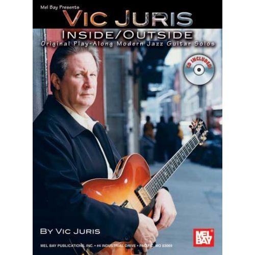 MEL BAY JURIS VIC - INSIDE/OUTSIDE + CD - GUITAR