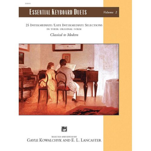 ALFRED PUBLISHING KOWALCHYK AND LANCASTER - ESSENTIAL KEYBOARD DUETS VOLUME 2 - PIANO DUET