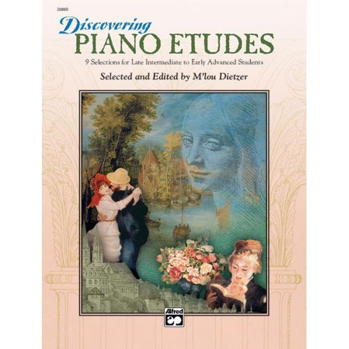 ALFRED PUBLISHING DIETZER M'LOU - DISCOVERING PIANO ETUDES - PIANO