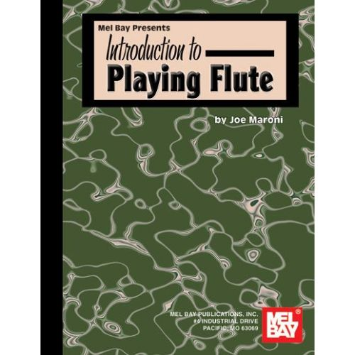 MEL BAY MARONI JOE - INTRODUCTION TO PLAYING FLUTE - FLUTE
