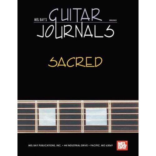 MEL BAY BAY WILLIAM - GUITAR JOURNALS - SACRED - GUITAR