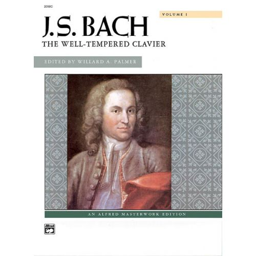 ALFRED PUBLISHING BACH JOHANN SEBASTIAN - WELL-TEMPERED CLAVIER, VOLUME 1 - PIANO SOLO