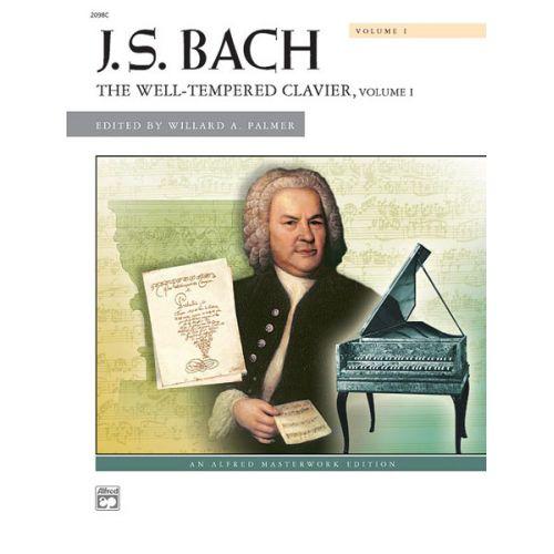 ALFRED PUBLISHING BACH JOHANN SEBASTIAN - WELL TEMPERED CLAVIER 1 - PIANO SOLO