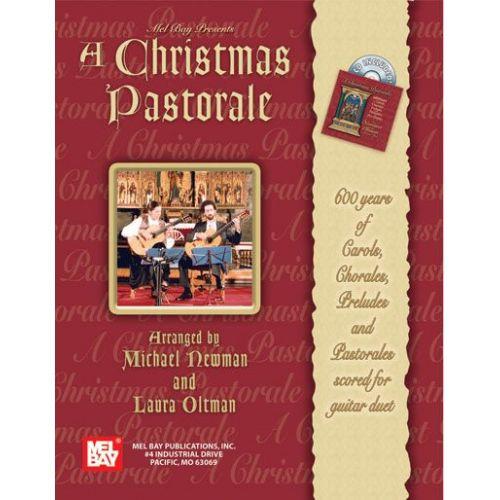 MEL BAY NEWMAN MICHAEL - A CHRISTMAS PASTORALE + CD - GUITAR