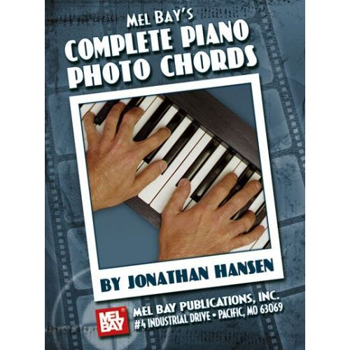 MEL BAY HANSEN JONATHAN - COMPLETE PIANO PHOTO CHORDS - KEYBOARD