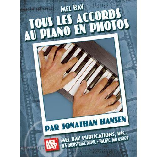 MEL BAY HANSEN JONATHAN - COMPLETE PIANO PHOTO CHORDS, FRENCH EDITION - KEYBOARD