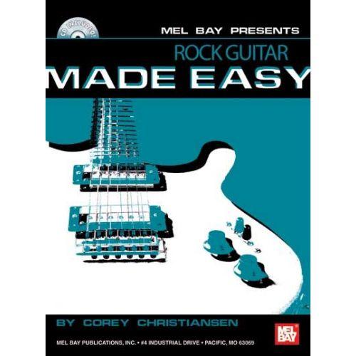 MEL BAY CHRISTIANSEN CORY - ROCK GUITAR MADE EASY + CD - GUITAR