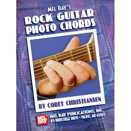 MEL BAY CHRISTIANSEN CORY - ROCK GUITAR PHOTO CHORDS - GUITAR