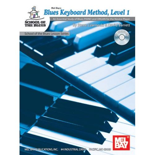 MEL BAY BARRETT DAVID - BLUES KEYBOARD METHOD, LEVEL 1 + CD - KEYBOARD