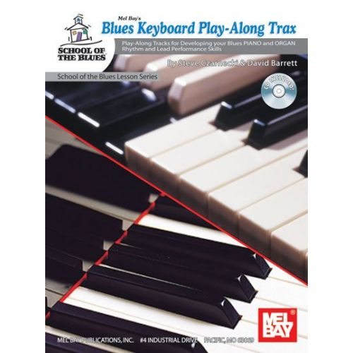 MEL BAY BARRETT DAVID - BLUES KEYBOARD PLAY-ALONG TRAX + CD - KEYBOARD