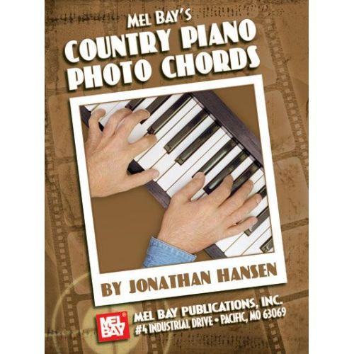 MEL BAY HANSEN JONATHAN - COUNTRY PIANO PHOTO CHORDS - KEYBOARD