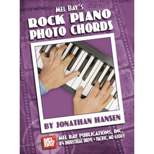 MEL BAY HANSEN JONATHAN - ROCK PIANO PHOTO CHORDS - KEYBOARD