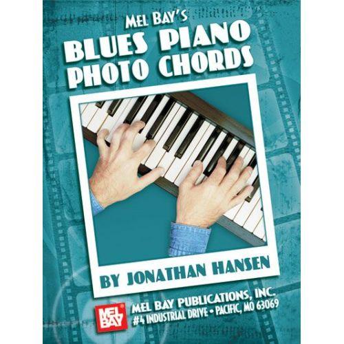 MEL BAY HANSEN JONATHAN - BLUES PIANO PHOTO CHORDS - KEYBOARD