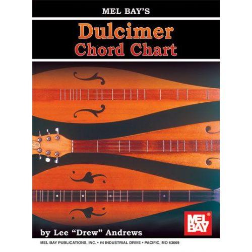 MEL BAY DREW ANDREWS LEE - DULCIMER CHORD CHART - DULCIMER