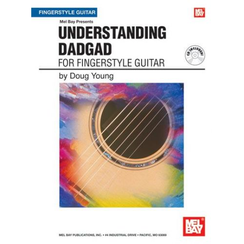 MEL BAY YOUNG DOUG - UNDERSTANDING DADGAD + CD - GUITAR