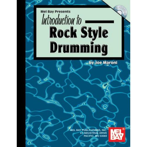 MEL BAY MARONI JOE - INTRODUCTION TO ROCK STYLE DRUMMING + CD - DRUM SET