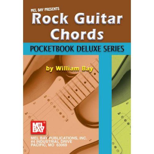 MEL BAY BAY WILLIAM - ROCK GUITAR CHORDS, POCKETBOOK DELUXE SERIES - GUITAR