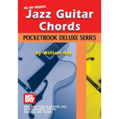 MEL BAY BAY WILLIAM - JAZZ GUITAR CHORDS, POCKETBOOK DELUXE SERIES - GUITAR