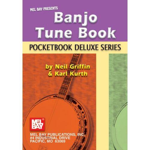 MEL BAY GRIFFIN NEIL - BANJO TUNE BOOK, POCKETBOOK DELUXE SERIES - BANJO