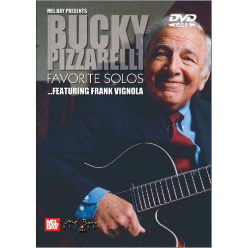 mel bay pizzarelli john bucky pizzarelli favorite solos guitar. Black Bedroom Furniture Sets. Home Design Ideas