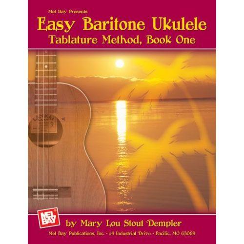 MEL BAY STOUT DEMPLER MARY LOU - EASY BARITONE UKULELE - UKULELE