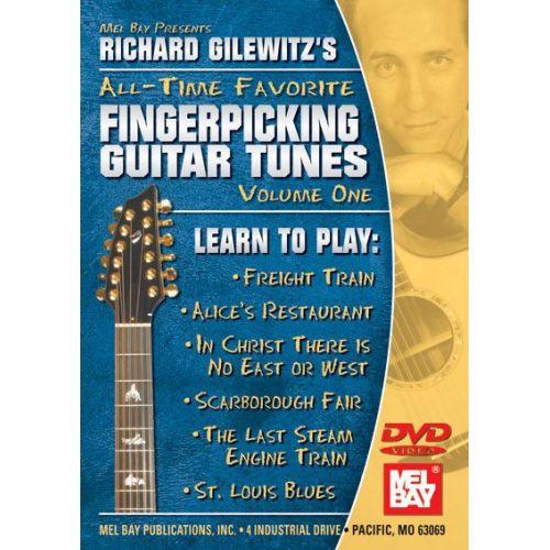 MEL BAY GILEWITZ RICHARD ALL-TIME FAVORITE FINGERPICKING TUNES - GUITAR