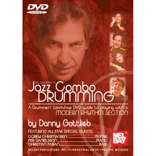 MEL BAY GOTTLIEB DANNY - JAZZ COMBO DRUMMING - DRUM SET