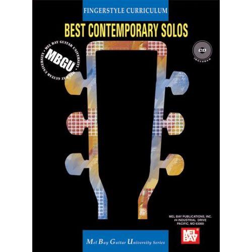 MEL BAY SIKTBERG STEPHEN - FINGERSTYLE CURRICULUM: BEST CONTEMPORARY SOLOS + CD - GUITAR