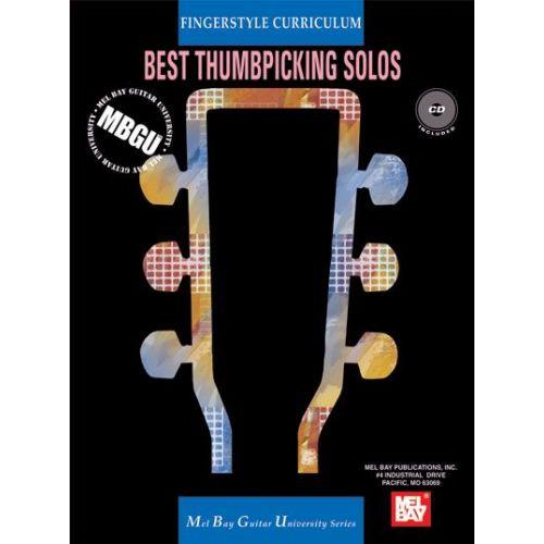 MEL BAY GANGEL WILLIAM - FINGERSTYLE CURRICULUM: BEST THUMBPICKING SOLOS + CD - GUITAR